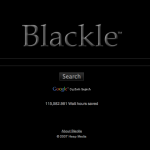 Google Black Out