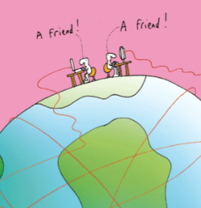Harold's Planet: The wonder of online social networking