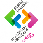 Animation au Forum mondial de la langue française