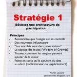 Bâtissez une architecture de participation