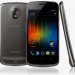 Lancement du Galaxy Nexus, avec Android 4.0